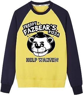 Haililais Five Nights at Freddy's Felpe Manica Lunga per Ragazzo e Ragazza Tumblr Invernali Pullover Elegante Camicia Maglia Morbidi Sweatshirt Elastico Felpa Casuale Sport Sweater