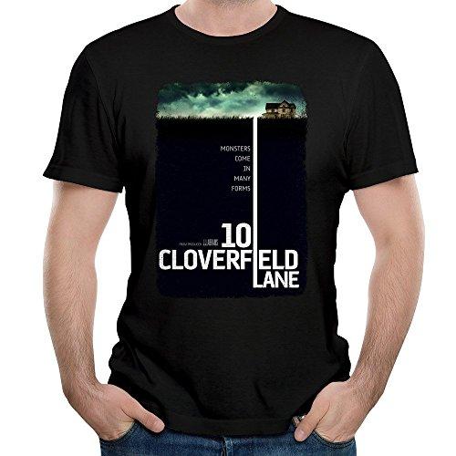 Men 10 CLOVERFIELD LANE 2016 T Shirts Short Sleeve