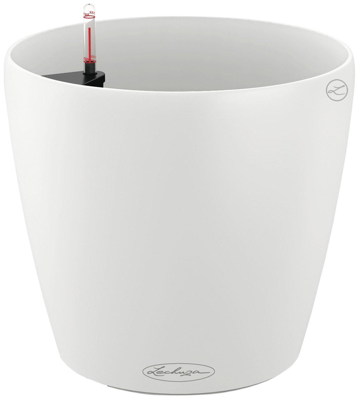 Lechuza Classico Pot de fleur Couleur 43 Blanc: Amazon.fr: Jardin