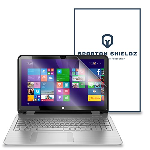 6X - Spartan Shield HD Screen Protector For HP Envy x360 15T Touch 15.6 - 6X