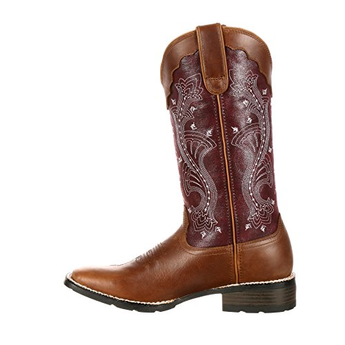 Donne Del Durango 12 Mustang Womens Pull-on Western Boot-drd0133