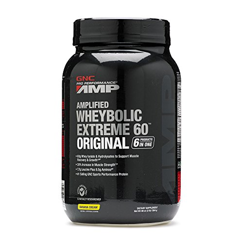 GNC Pro Performance AMP Amplified Whey Bolic Extreme 60 Original Powder
