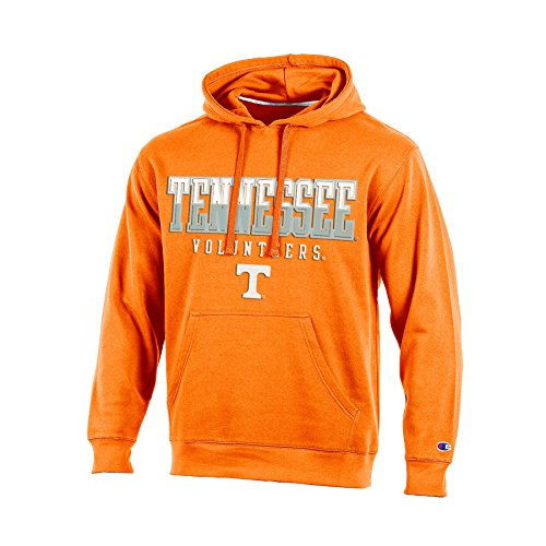 NCAA Tennessee Volunteers Adult Men Pullover Hooded Fleece, Large, Orange (Mens Hoodie Tennessee)