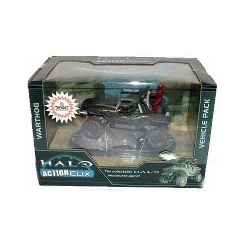 Wizkids Halo Actionclix - HALO 3 Exclusive Actionclix Warthog Vehicle Pack Figure
