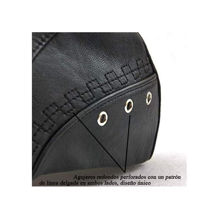 51oiJtHnwfL Boinas Suave, cómodo y flexible; Conveniente para al al aire libre.Pliega para su almacenamiento En general, se trata de un casquillo de golf de peso ligero y elegante que es realmente grande para cualquier actividad o salidas PU(Poliuretano)