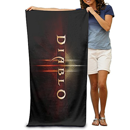 [ARPG Diablo 3 Fathom Studios Logo Beach Towel] (Diablo Reaper Of Souls Costume)
