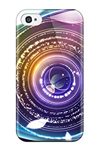 Cute Tpu CaseyKBrown Digital Abstract Eye Case Cover For Iphone 4/4s