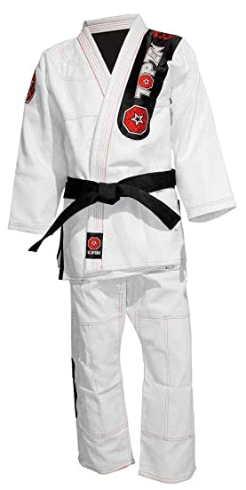 Top Ten Brazilian Jiu-Jitsu Traje Blanco, color blanco ...