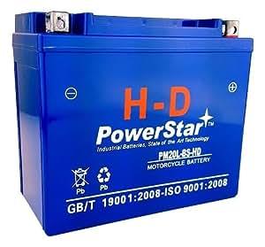 h d powerstar faytx20l battery for harley davidson 65989 97c 3 year warranty. Black Bedroom Furniture Sets. Home Design Ideas