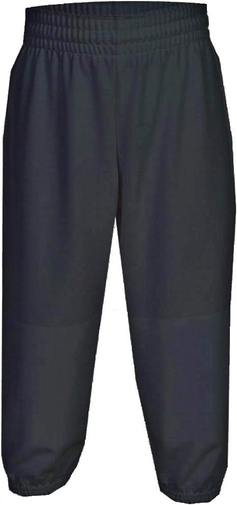 Grey or White Martin Sports Youth Pull Up Baseball//Softball Pants Black XS-XL