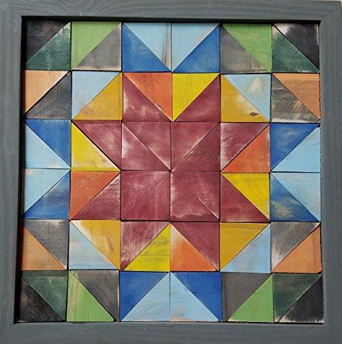 Lone Star Quilt Pattern Lath Art