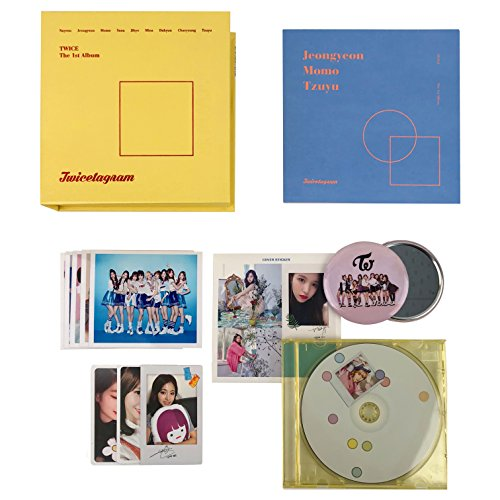 TWICE 1st Repackage Album - Merry & Happy [ HAPPY Ver  ] CD