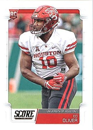 big sale 0c10e 0b1c9 Amazon.com: 2019 Score #361 Ed Oliver RC Rookie Houston ...