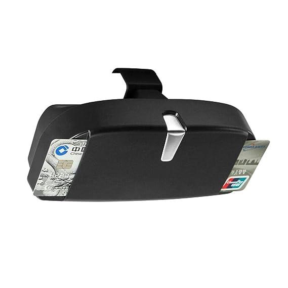 Amazon.com: Soporte para gafas de coche para visera solar ...