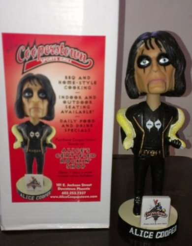 (Alice Cooper Cooperstown Limited Edition Bobblehead Figure )