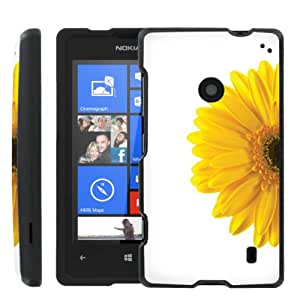 [ManiaGear] Design Graphic Image Shell Cover Hard Case (Yellow Big Flower) for Nokia Lumia 635