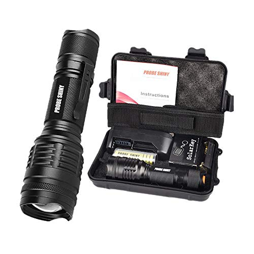 Orcbee  _X800 Shadowhawk 6000lm Tactical Flashlight T6 LED Military Torch Gift Kit