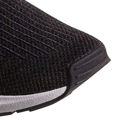 adidas Originals Swift Run CQ2116 e CQ2114. Uomo.Bianco y Nero Sneaker, Trainer Low-Top Core Black/Ftwr White