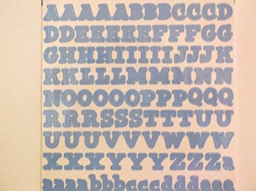 Frances MeyersLight Blue Alphabet Stickers