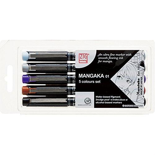 Manga Pen Set - 6