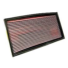 K&N 33-2649 Filtro de Aire Coche, Lavable y Reutilizable