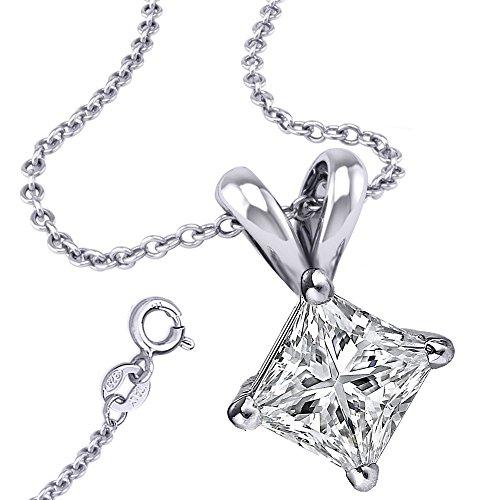 925 Sterling Silver Princess C