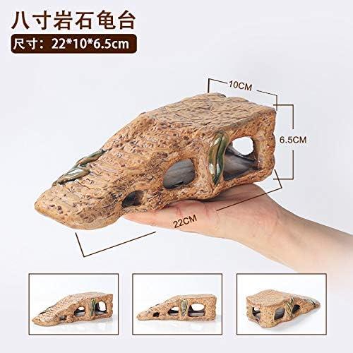 JRTAN&Pet Tortuga de cerámica Terraza Agua Tortuga Sun Back Plataforma Escalera Roca Escalada: Amazon.es: Productos para mascotas