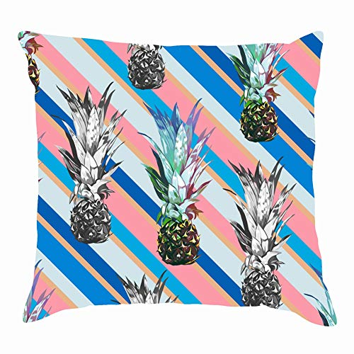 Ciutae Beautiful Seamless Floral Tropical Pattern Miami Beauty Fashion Miami Beauty Fashion Pillow Case Throw Pillow Cover Square Cushion Cover 18X18 Inch -