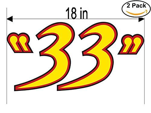 33 Export Lager Beer Logo Alcohol 2 Vinyl Sticker Pack Decal Bar Huge 18 High Sticker