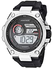 Armitron 408450RBK Reloj para Hombre, color Negro, Estándar