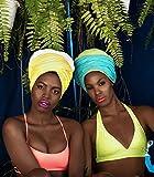 Hair Headwrap Scarf,African Women' Soft Long Scarf