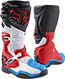 Fox Racing Comp 8 Men's Off-Road Motorcycle Boots - Red/White / Size 13