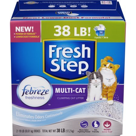 fresh-step-multi-cat-with-febreze-freshness-clumping-cat-litter-scented-38-pounds