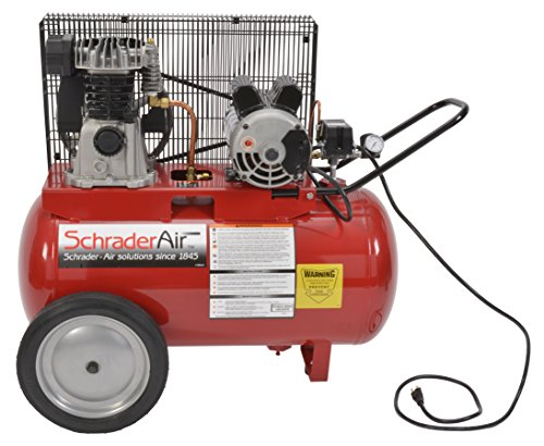 Schrader SA1520 Consumer 2 HP 20-Gallon Portable Air Compressor