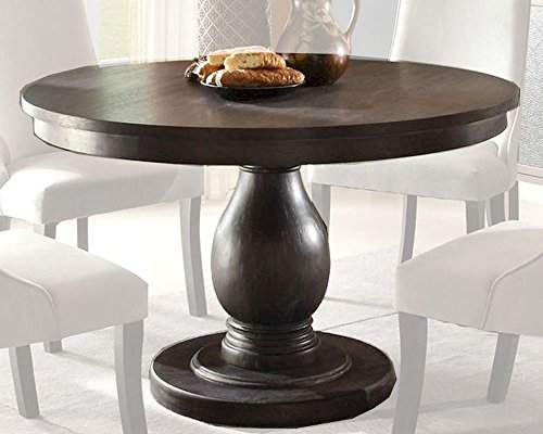 (2466-48 Style Round Pedestal Table By Homelegance)
