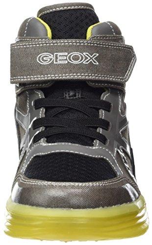 Geox J Argonat Boy B - Zapatillas Niños Gris (Grey/limec0666)