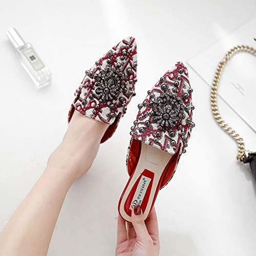 JMMLX Zapatos Muller,La Primavera Y El Verano Europeos Y ...