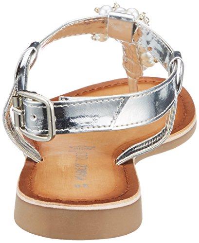 Argento T Con silver Tozzi Marco Comb 28136 Donna A Sandali Chiusura xqTf68wnBW