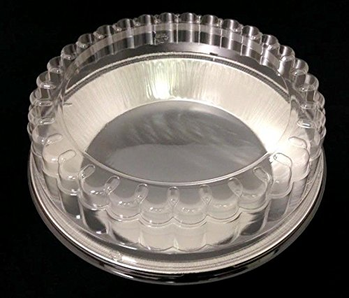 "Handi-foil 9"" Smooth-Wall Extra-Deep Pie Pan Plate Tin +C..."