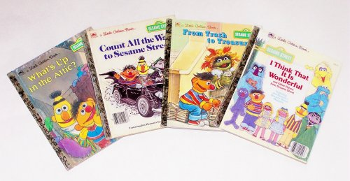 Small Golden Books Multipack: Sesame Street Muppets 2