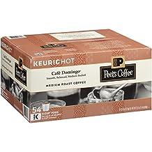 Peet's Coffee, Café Domingo, Medium Roast, K-Cup Pack, 54 Count