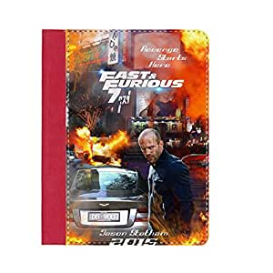 With Fast Furious 7 With Stand Leather Cover Quilted Back Phone Case For Child For Apple Ipad 2 3 4 Choose Design 17