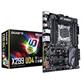 GIGABYTE X299 UD4 (Intel LGA 2066 Core i9/ ATX/ 3 M.2/ Front USB 3.1 /RGB Fusion/Intel LAN /2 Way SLI Motherboard)