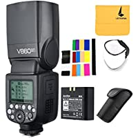GODOX V860II-F 2.4G TTL Li-on Battery Camera Flash Speedlite for Fujifilm Camera X-Pro2 X-T20 X-T1 X-T2 X-Pro1 X100F