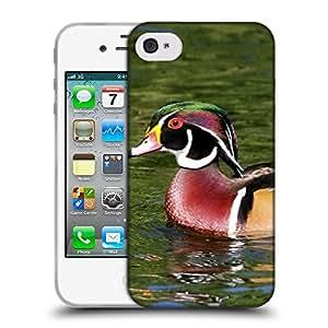 Super Galaxy Coque de Protection TPU Silicone Case pour // V00000023 Pato // Apple iPhone 4 4S 4G