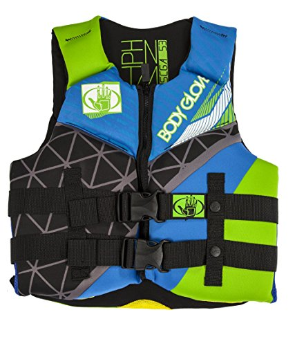 Body Glove Wetsuit Co Phantom Neoprene US Coast Guard Approved PFD Life Jacket Life Jacket Lock