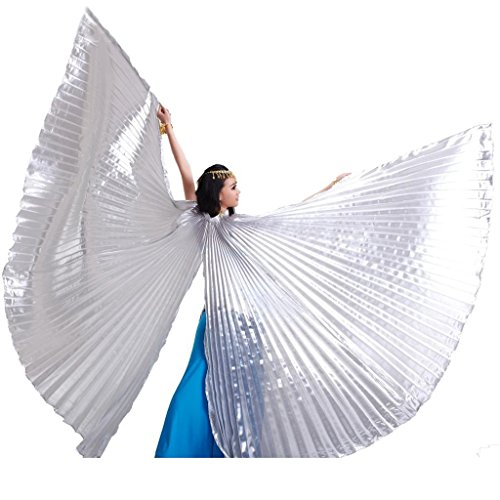 Pilot-trade Women's Egyptian Egypt Belly Dance Costume Bifurcate Isis Wings -