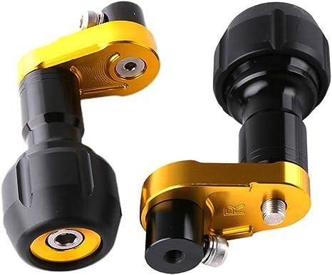 Amazon.com: Flameer Motorcycle CNC - Protector de marco de ...