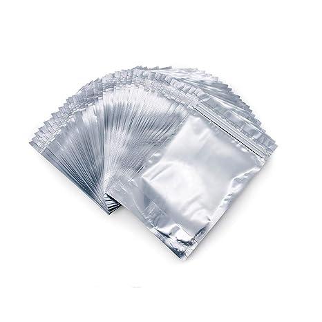 Amazon.com: Mylar Bolsas, 50 bolsas reutilizables con cierre ...