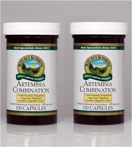 Nature's Sunshine Artemisia Combination 100 Capsules (Pack of 2)